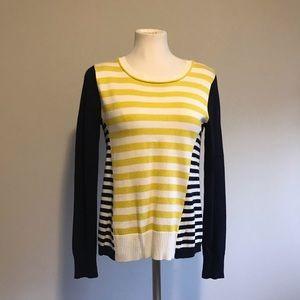 Anne Klein striped sweater